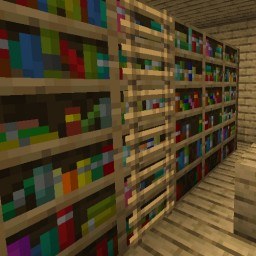 More variants of bookshelf! Minecraft Texture Pack