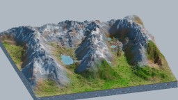 Quandary Peak Minecraft Map & Project