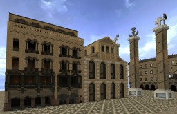 Rom large antique house + Download Minecraft Map & Project