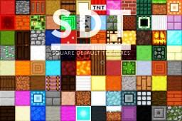 SDT (Square Default Textures) Minecraft Texture Pack
