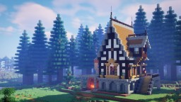 A Fantasy House Minecraft Map & Project