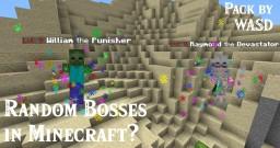 WASD Random Bosses [Datapack] Minecraft Data Pack