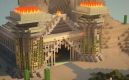 🔺Desert Ruins Dungeon🔺 Minecraft Map & Project