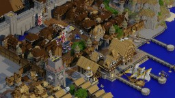 Westburg  [Level 3 size] Medieval functional villager City [WIP] Minecraft Map & Project