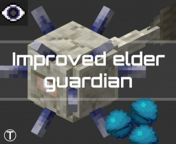 Elder Guardian Improvements 1.14-1.16+ Minecraft Data Pack