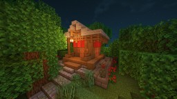 Japanese little shrine Minecraft Map & Project