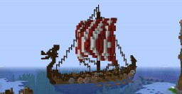Viking Warship Minecraft Map & Project