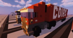 1.5:1 Scale Scania Coles Supermarkets Truck and Trailer Minecraft Map & Project
