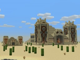 3:1 Desert Temple Minecraft Map & Project