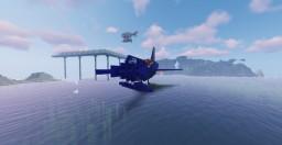 Convair XF2Y Sea Dart Minecraft Map & Project