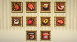 More Food Mod | Sushi Edition Minecraft Mod