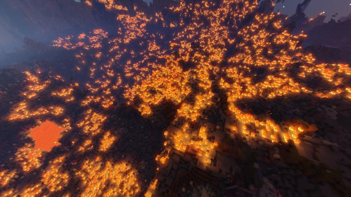 Nighttime and bazooka  fire