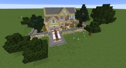 Cozy Suburban Home Minecraft Map & Project