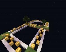 4 Player Lucky Block Skywars Minecraft Map & Project