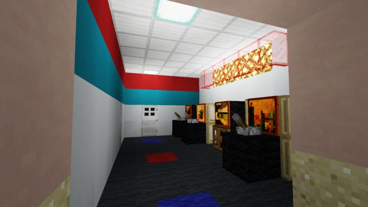 Mini arcade area