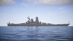 IJN Musashi (1:1 scale) Minecraft Map & Project