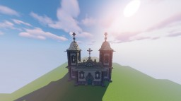Catedral/Santuary: Bom Jesus of Matosinhos Minecraft Map & Project