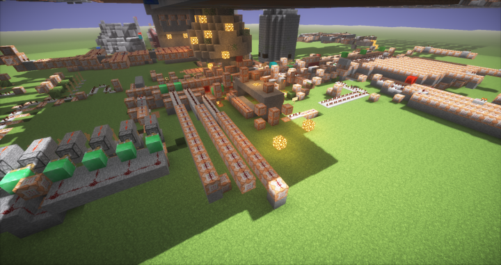 Just a small bit of the redstone.