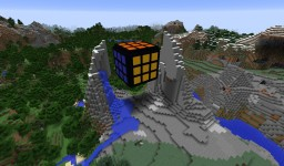 Small Rubik's Cube Minecraft Map & Project