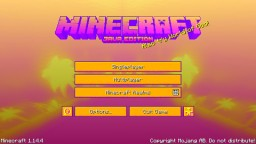 OUTRUN Minecraft Texture Pack
