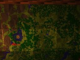 Azura Passing leading to Lake Azura Minecraft Map & Project