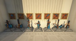 Weapon+ Mod | Gladiator Edition Minecraft Mod