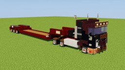 Volvo Heavy Load Truck Minecraft Map & Project