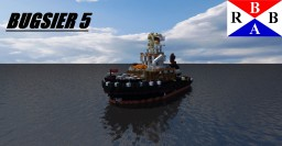 Tugboat Bugsier 5 [Full Interior] Minecraft Map & Project