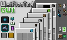 Unificated GUI  - Simply, unified GUI [Light/Dark] [1.13-1.14.x] Minecraft Texture Pack
