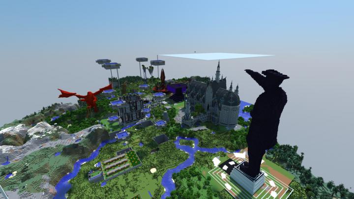Block Game Mecca Minecraft Map