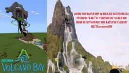VOLCANO BAY WATER THEME PARK RECRUITMENT HELP Minecraft Map & Project