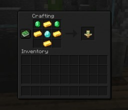 Craftable Totem of Undying Minecraft Data Pack