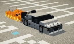 DeLorean Time Machine Minecraft Map & Project