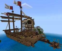 Pirate Ship Cujo Minecraft Map & Project