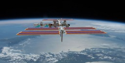 International Space Station ISS Minecraft Map & Project