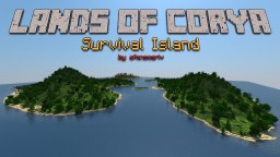 Lands of Corya - Survival Island Minecraft Map & Project