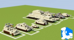Realm of Lothiredon » Military Vehicle pack! [DOWNLOAD] Minecraft Map & Project