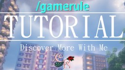 /gamerule | World Settings | Tutorial/Guide Minecraft Blog