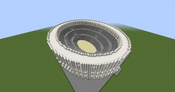1:2 Scale Roman Colosseum Minecraft Map & Project