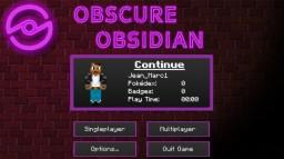 Pixelmon Obscure Obsidian Minecraft Server