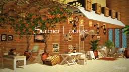 Summer Lounge【cocricot Resourcespacks】 Minecraft Map & Project