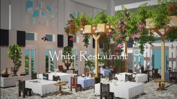 White Restaurant 【cocricot Resourcespacks】 Minecraft Map & Project