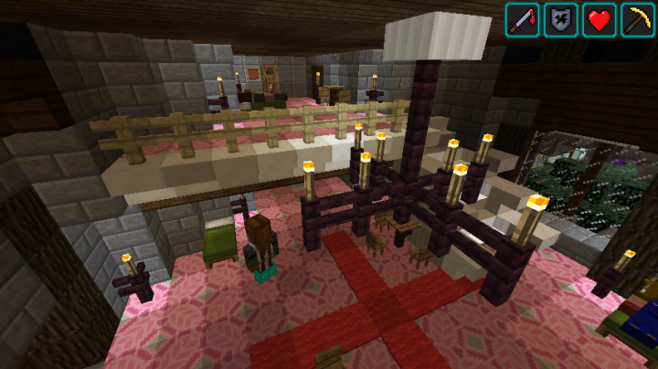 one of the villager bedrooms