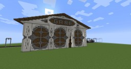 Gare Minecraft Map & Project