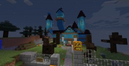 Haunted House (partially unfurnished, with bonus giant pumpkin) Minecraft Map & Project