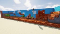 Vanilla SuperMario Lucky Block Command Map + TEXTURES Minecraft Map & Project