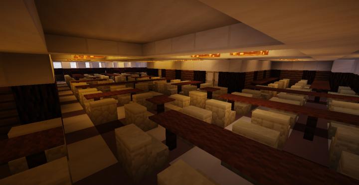 3rd Class Dining Room
