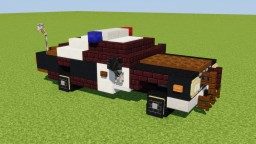 Dodge Monaco Police Car Minecraft Map & Project