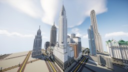 The Titan Building - Art Deco Skyscraper (Remastered) | New Limesville City | NL | UCS Minecraft Map & Project