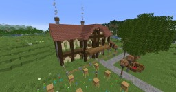 1.14 hacienda style house Minecraft Map & Project